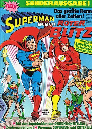 Klassiker: Superman gegen Roter Blitz (Ehapa, 1977)