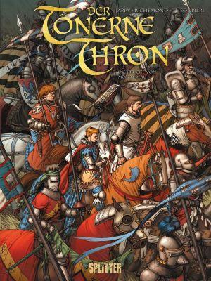 Der Tönerne Thron, Band 1 + 2 (Splitter)