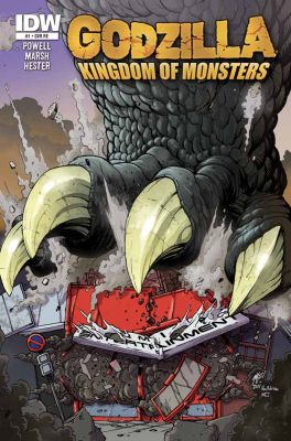 Godzilla: Kingdom Of Monsters, Heft 1 (IDW)