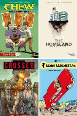 Chew 5; The Homeland Directive, Crossed 2; Benni Bärenstark 1