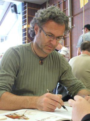 Philippe Xavier signiert 'Kreuzzug'
