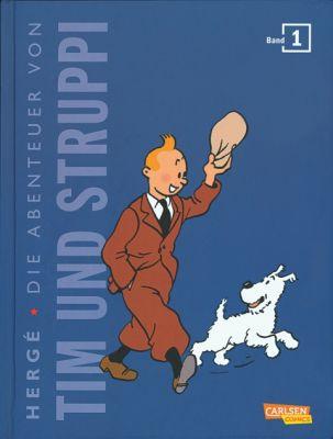 Tim und Struppi Kompaktausgabe, Band 1