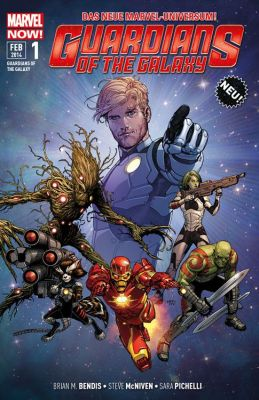 Guardians of the Galaxy, Band 1 (Panini)