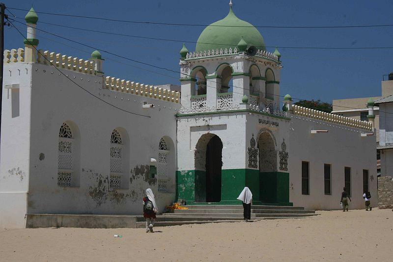 Die Riyadha Moschee aus fast der gleichen Perspektive.