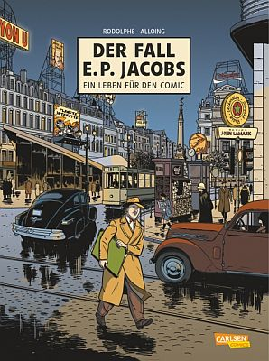 Der Fall E.P. Jacobs (Carlsen)