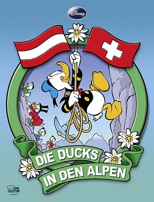 Die Ducks in den Alpen (Ehapa ECC)