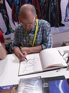 Klaus Janson zeichnet Batman