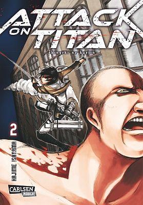 Attack on Titan, Band 2 (Carlsen)
