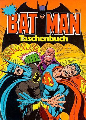 Zum 75.: Batman Taschenbuch 1 (Ehapa)