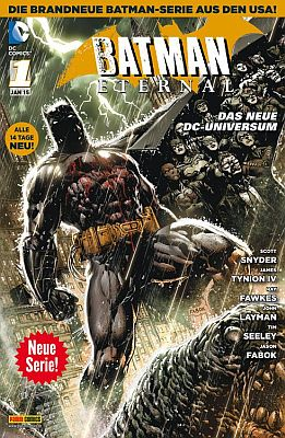 Batman Eternal, Heft 1 (Panini)