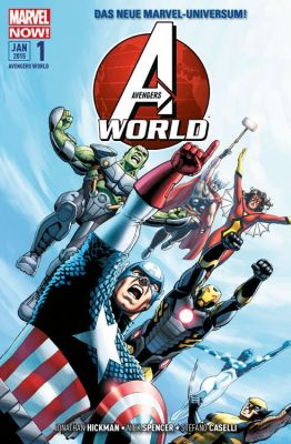 Avengers World, Band 1 (Panini)