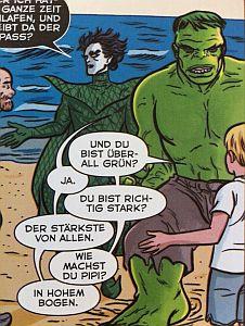 Auch der Hulk hat jetzt Humor