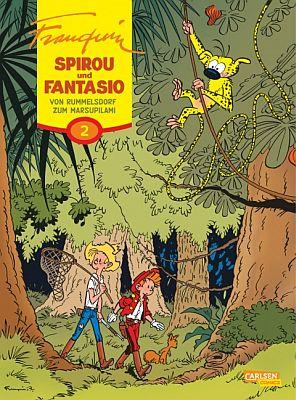 Spirou und Fantasio Gesamtausgabe, Band 2 (Carlsen)