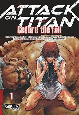Attack on Titan – Before the Fall, Bd. 1 (Carlsen)