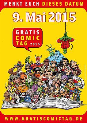 9. Mai: Gratis Comic Tag 2015!