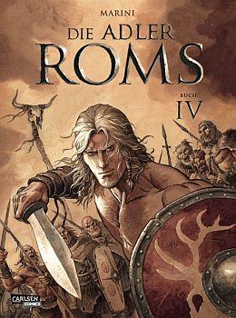 Bisher 4 Bände: Die Adler Roms