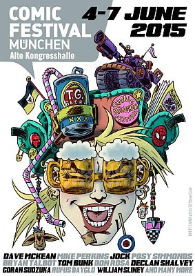 Comicfestival München 2015