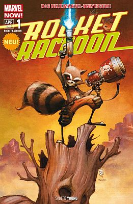 Rocket Raccoon, Band 1 (Panini)