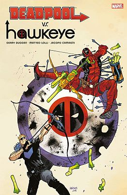 Deadpool vs. Hawkeye (Panini)
