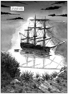 Der Vorbote: Cooks Endeavour ankert in Botany Bay
