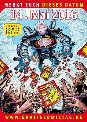 14. Mai: Gratis Comic Tag 2016!