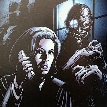 Scully hat den Durchblick