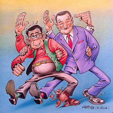Die Dossieristen: Herr Gotlib und Herr Goscinny