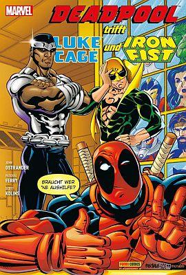 Deadpool trifft Luke Cage und Iron Fist (Panini)