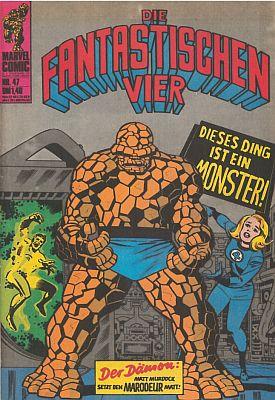Marvel-Tag: Die Fantastischen Vier, Heft 47 (Williams)