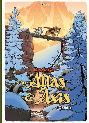 Die Saga von Atlas und Axis, Band 2 (toonfish)