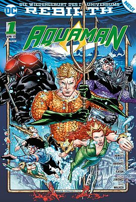 Aquaman, Band 1 (Panini)