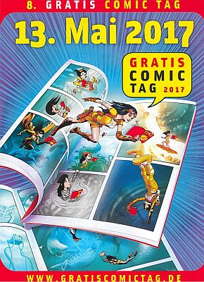 13. Mai: Gratis Comic Tag 2017!