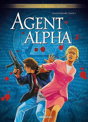 Agent Alpha Gesamtausgabe, Band 1 (Comicplus)
