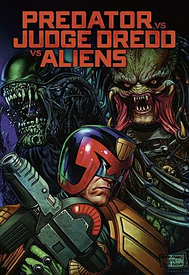 Predator vs Judge Dredd vs Aliens (Cross Cult)