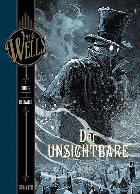 H.G. Wells: Der Unsichtbare, Band 1 (Splitter)