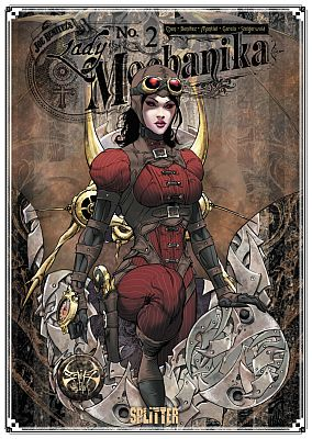 Lady Mechanika, Band 2 (Splitter)