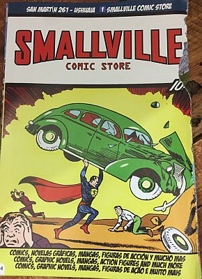 Smallville: Ein Besuch im südlichsten Comicshop der Welt