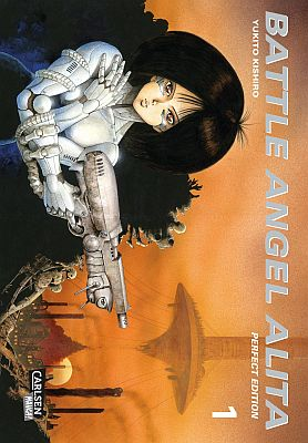 Battle Angel Alita, Band 1 (Carlsen)