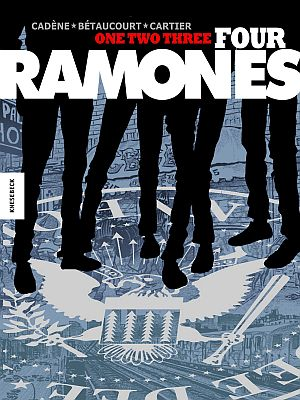 One, Two, Three, Four, Ramones! (Knesebeck)