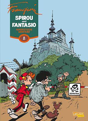 Spirou und Fantasio Gesamtausgabe, Band 8 (Carlsen)