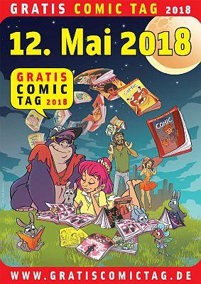 12. Mai: Gratis Comic Tag 2018!
