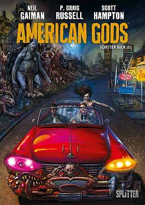 American Gods, Band 2 (Splitter)