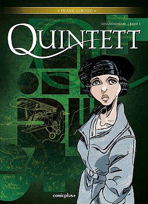 Quintett Gesamtausgabe, Band 1 (Comicplus)