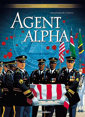 Agent Alpha Gesamtausgabe, Band 3 (Comicplus)