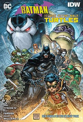 Batman/Teenage Mutant Ninja Turtles II (Panini)