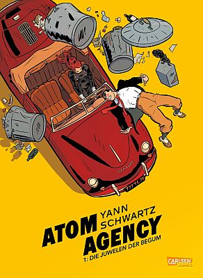 Atom Agency, Band 1 (Carlsen)