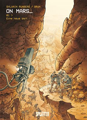 On Mars_, Band 1 (Splitter Verlag)