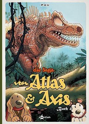 Die Saga von Atlas und Axis, Band 4 (toonfish)
