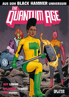 Black Hammer: The Quantum Age (Splitter)