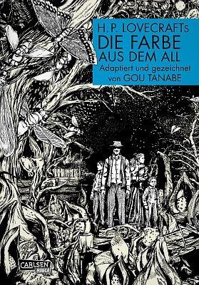 """H.P. Lovecrafts """"Die Farbe aus dem All"""" (Carlsen)"""